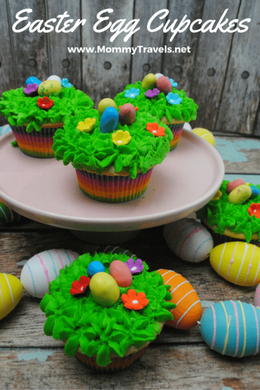 Make our Easter Egg Vanilla Cupcake Recipe as a great easy option that everyone will love at Easter. These are a great base for any cupcake design!