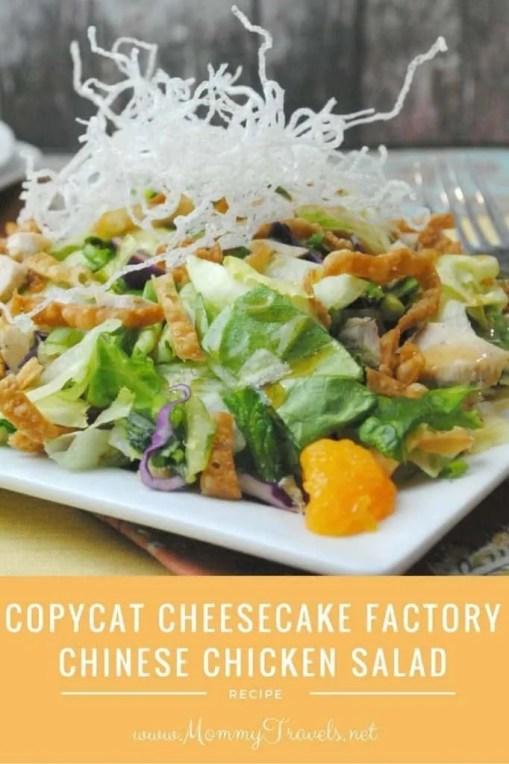 Copycat Cheesecake Factory Chinese Chicken Salad