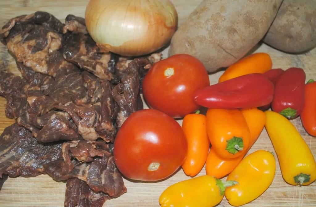 Carne Asada ingredients