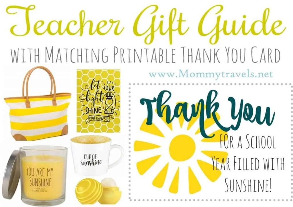 Teacher Gift - Sunshine Bundle