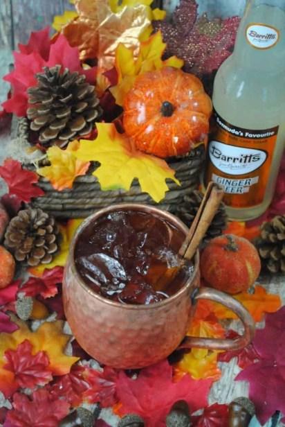 Pumpkin Spice Moscow Mule recipe