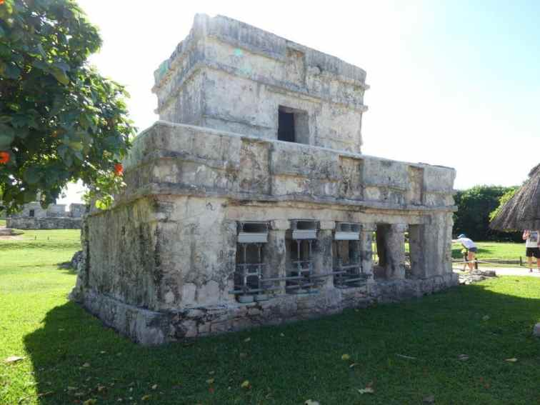 temple of the frescoes at Tulum