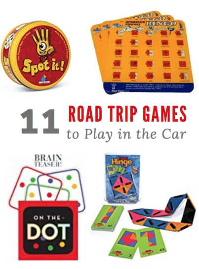 Road Trip Games are a must for long family vacations! Check out our Top Picks For Road Trip Games to play in the car with your kids!