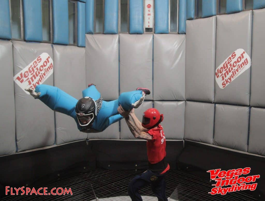 Vegas indoor skydiving is a great activity for kids and parents.
