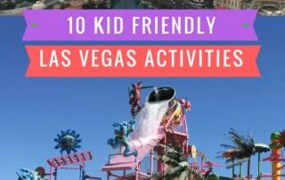 10 Kid friend activities in Las Vegas
