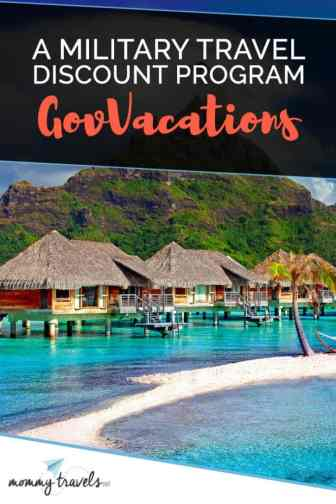 Gov Vacations a Military Travel Discount Program
