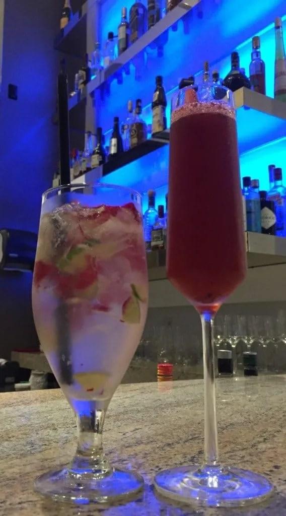 Hotel Mousai cocktails