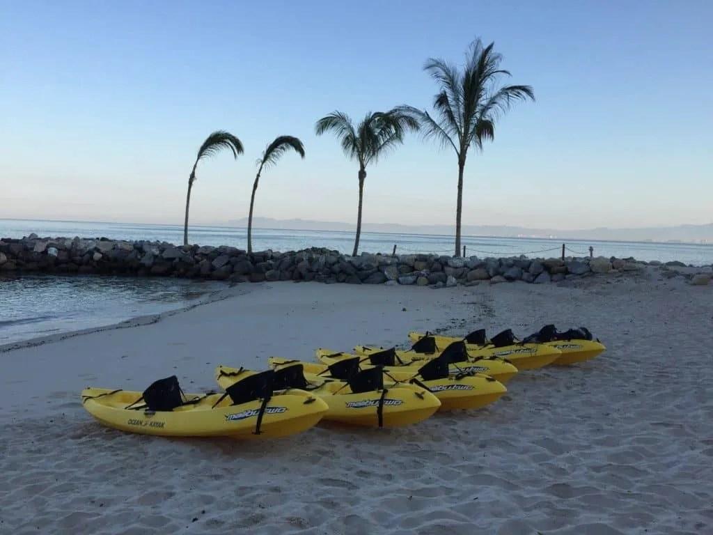 kayaking at Hotel Mousai