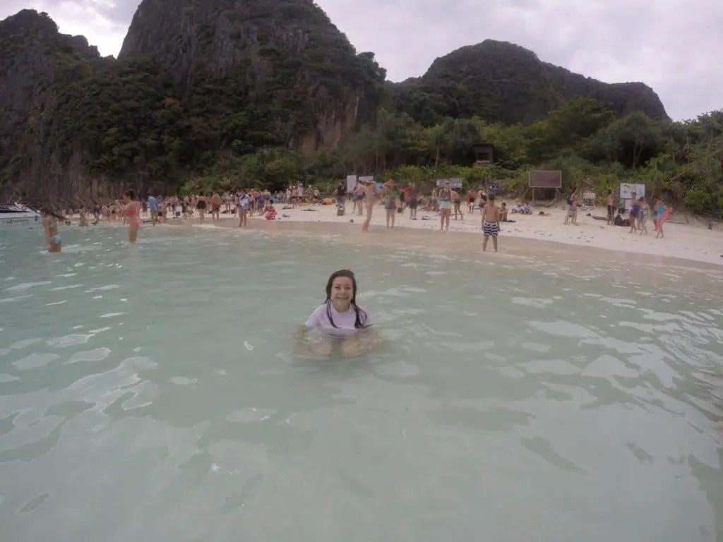 The Beach on Phi Phi Island