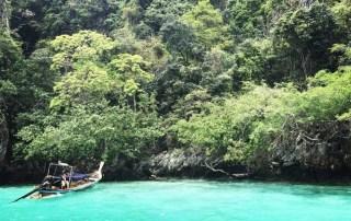 Monkey beach on Phi Phi Island