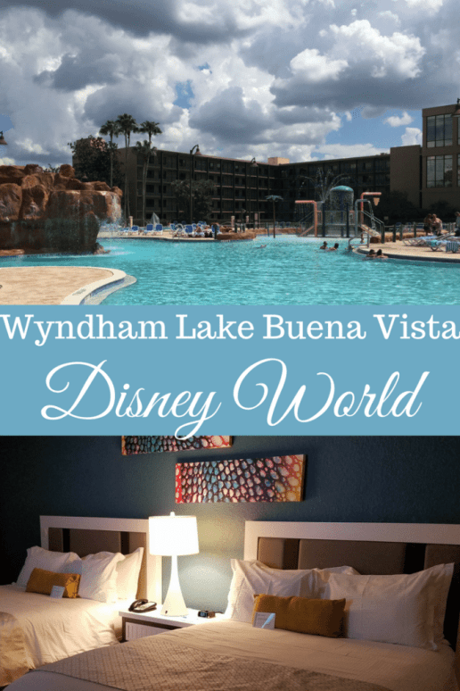 Wyndham Lake Buena Vista at Disney World is an official Disney hotel and the closest hotel to Disney Springs