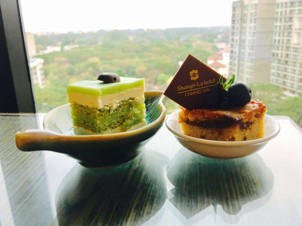 Tea Time at Shangri-la Chiang Mai Horizon Club lounge