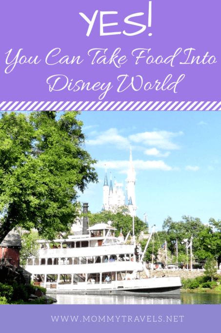 Bring Your Own Food into Disney World
