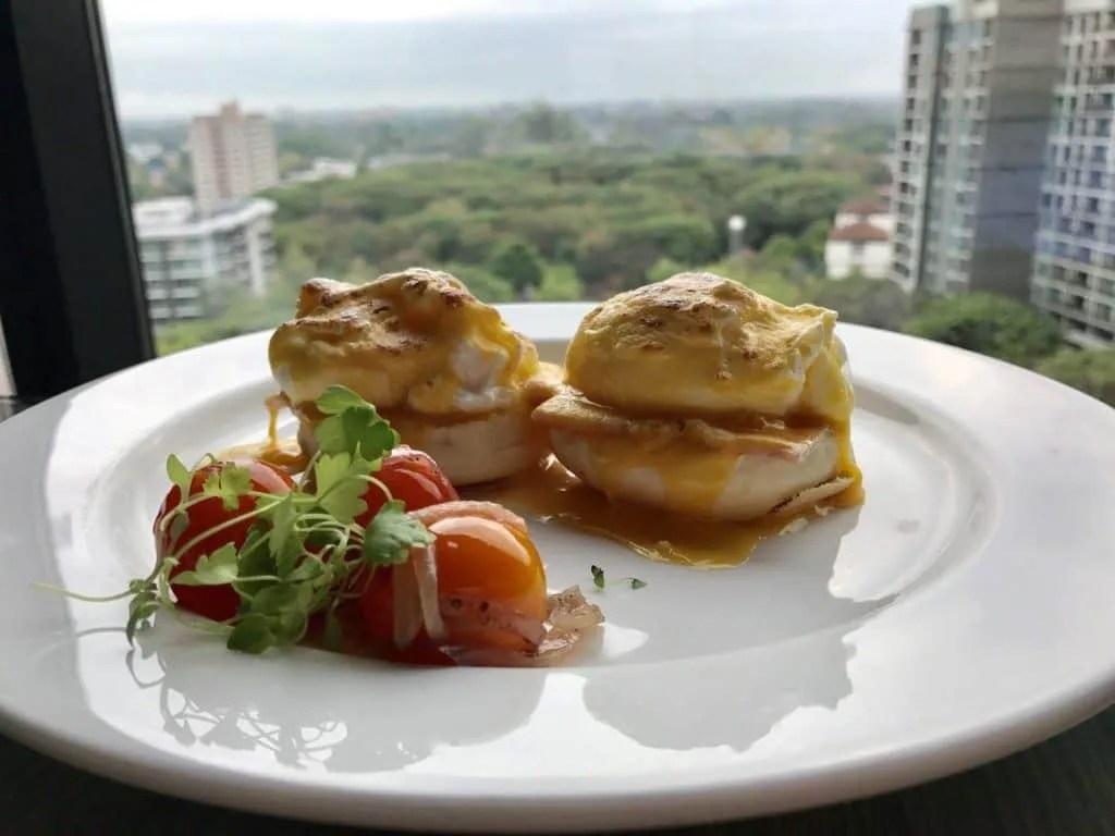 Breakfast at Shangri-la Chiang Mai Horizon Club lounge