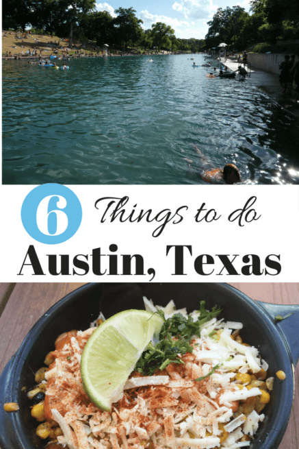 6 Things to do Austin, Texas