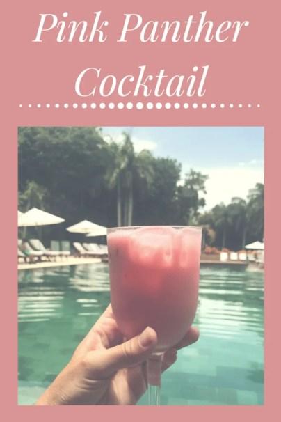 pink panther cocktail recipe