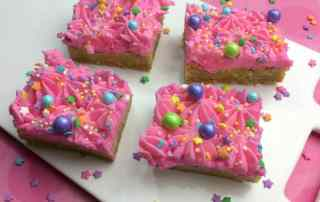 Unicorn Sugar Cookie Bars