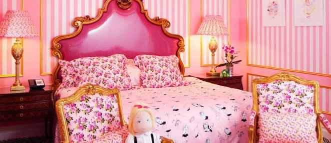 Eloise Suite at the Plaza Hotel in NYC