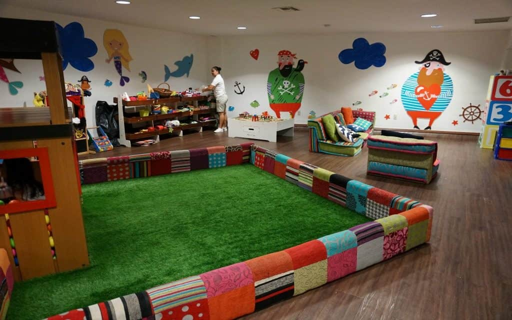 Kids club at Fiesta Americana