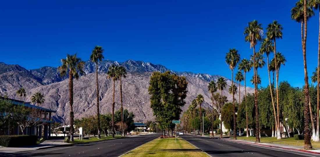 Palm Springs, California family vacation