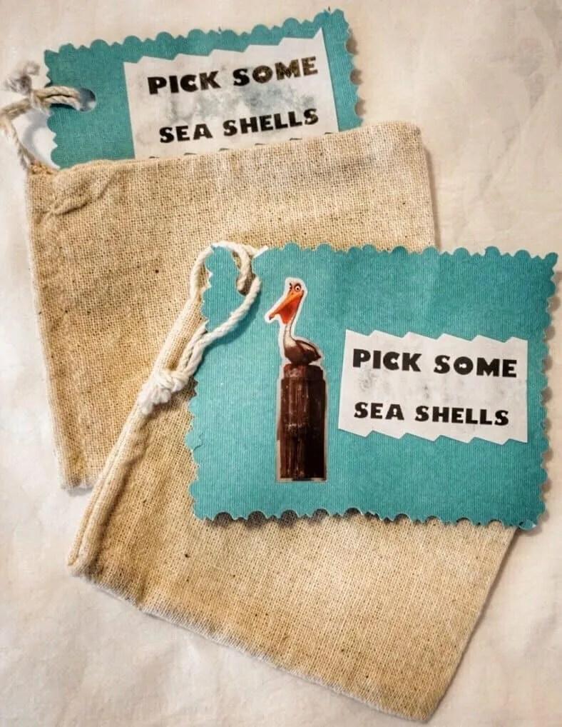 sea shell bags