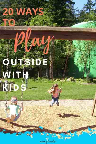 20 ways to play outside with kids
