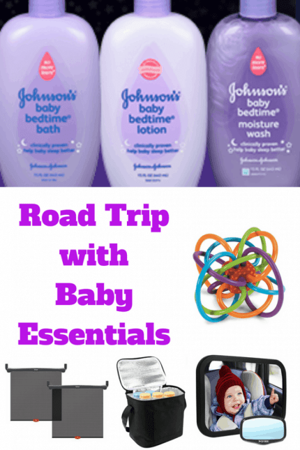 Find out what essential things you will need to survive a road trip with baby for the first time.