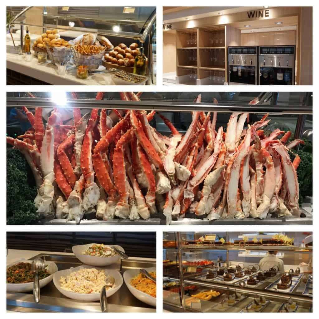 Garden Cafe Buffet on the Norwegian Bliss