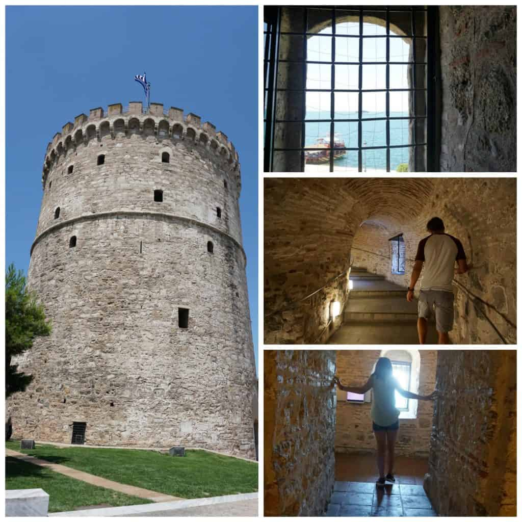 The White Tower in Thessaloniki