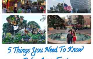 5 Things you need to know for your first Disney World Vacation