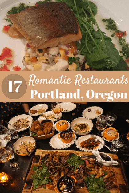 17 Romantic restaurants in Portland Oregon