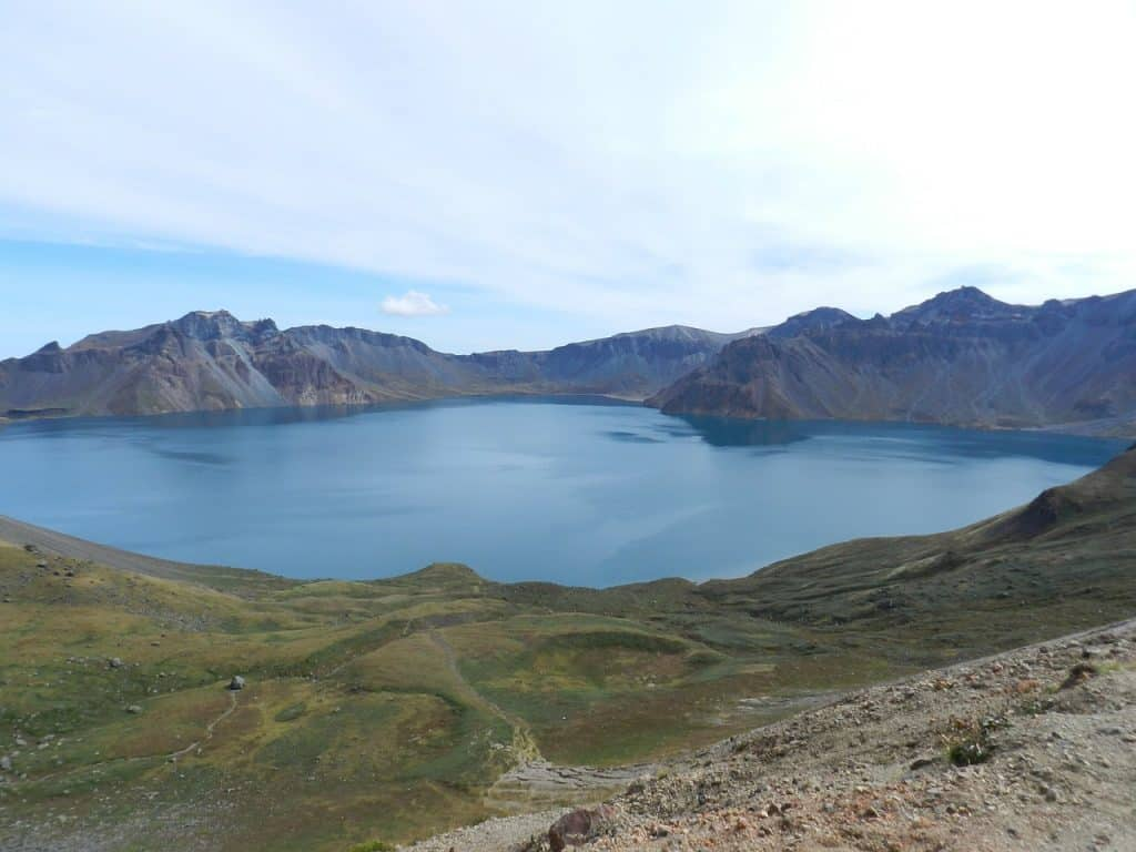 Mt Paektu North Korea