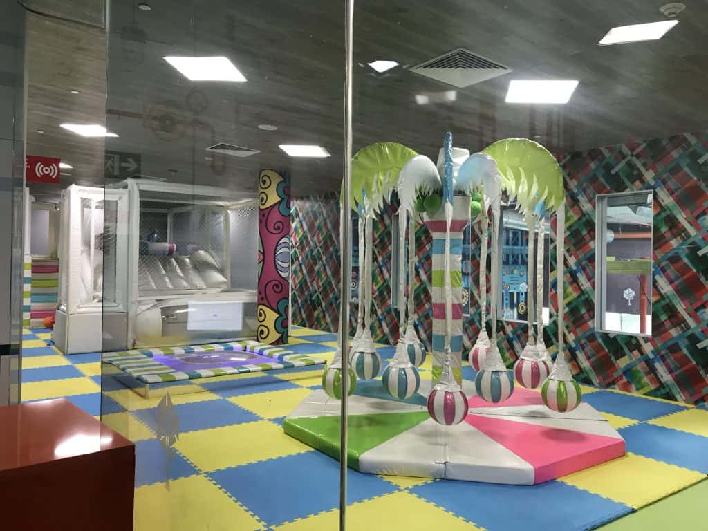 Special play area for younger children at The Grand at Moon Palace