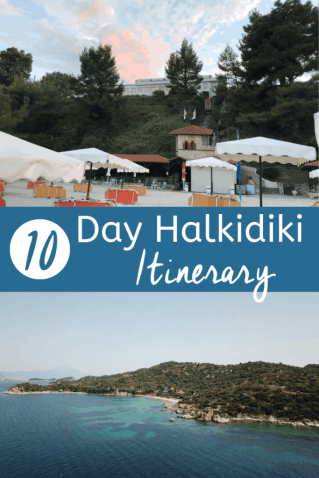 10 day Halkidiki Itinerary