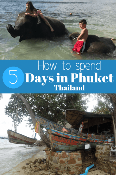 5 day Phuket Itinerary - Figure out how to spend each day in Phuket with this itinerary