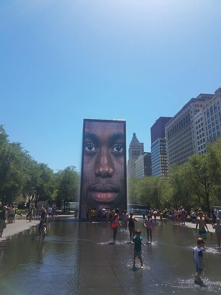 Crown Fountain in Chicago