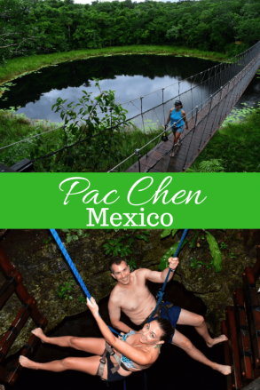 Pac Chen: a Mayan Adventure with rappelling, kayaking, zip lining and more