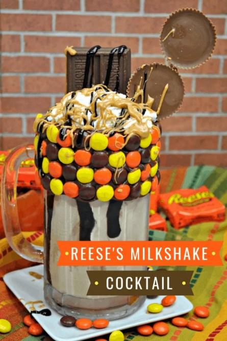 Reese's Milkshake Cocktail