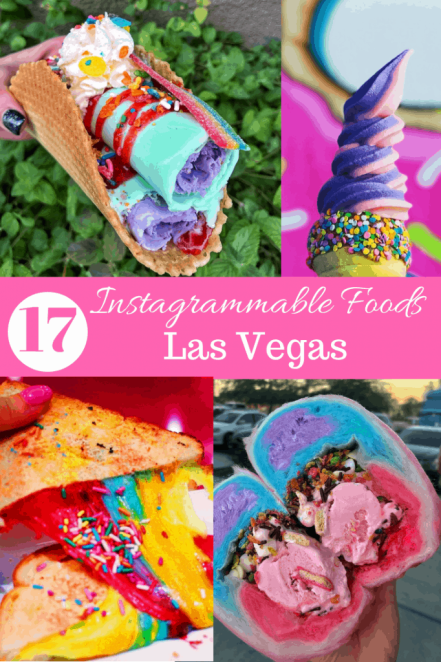 17 Most Instagrammable Foods in Las Vegas