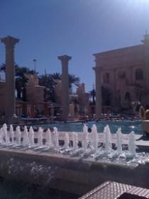 Caesar's Palace Pool Las Vegas
