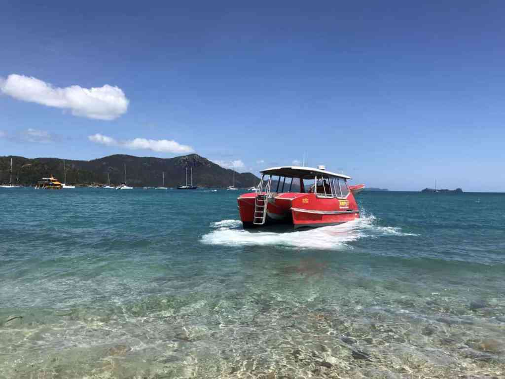 Whitehaven Beach with Red Cat Adventures