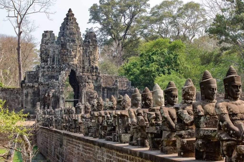 Angkor Thom at Angkor Wat