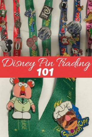 Disney pin trading 101