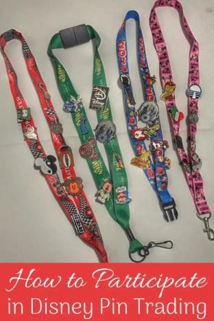 How to trade pins at Disney