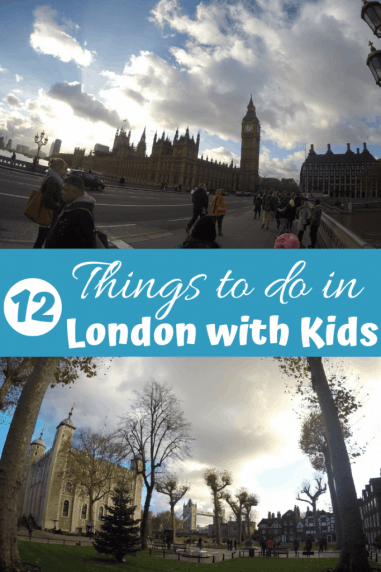 12 Things to do in London with Kids