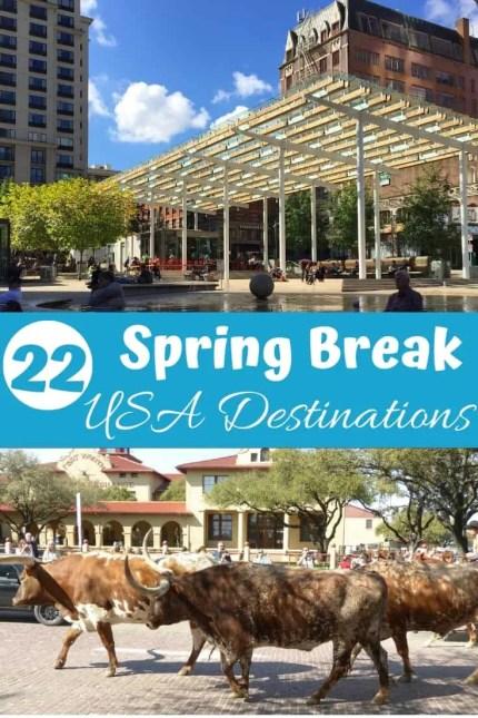22 Spring break destinations in the United States