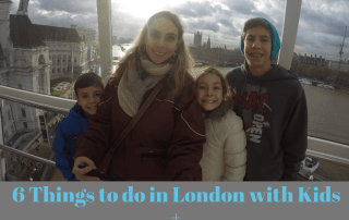6 Things to do in London with Kids