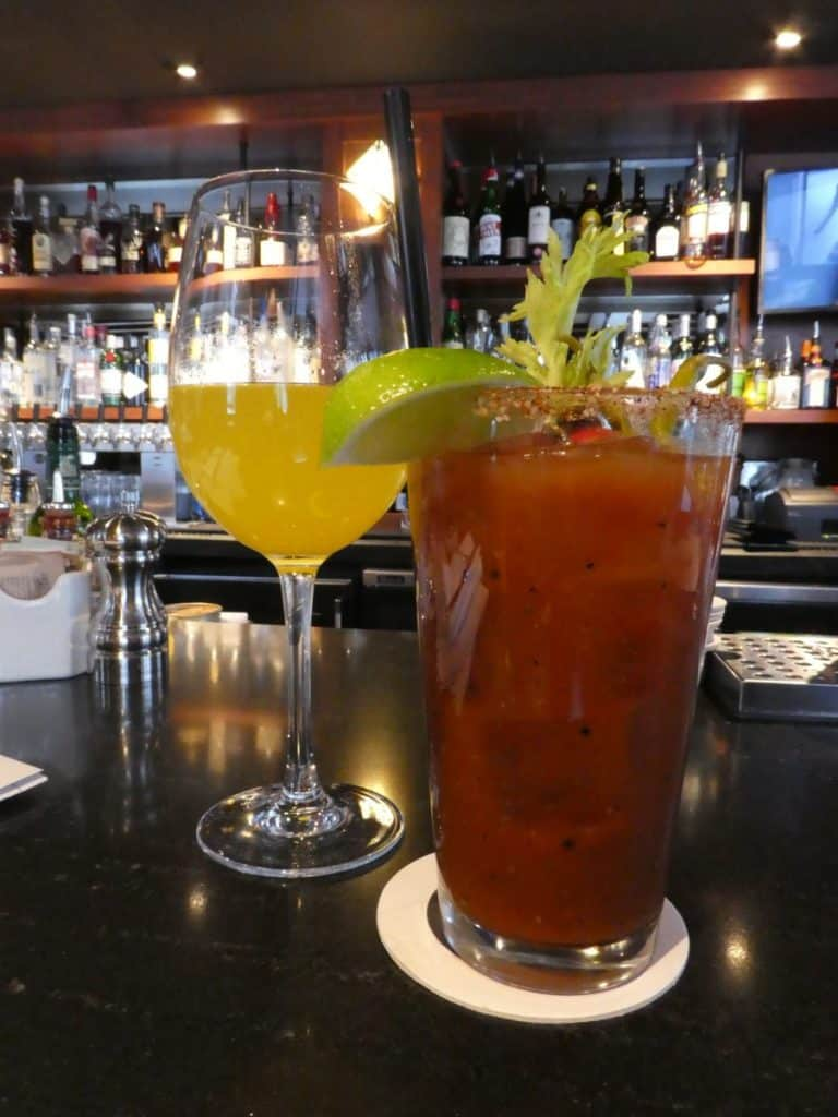A Bloody Mary at Q Restaurant