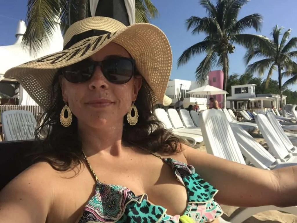 Playa Mia a beach club in Cozumel
