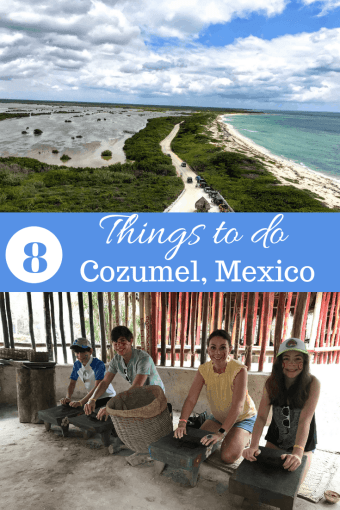 8 Things to do in Cozumel Mexico